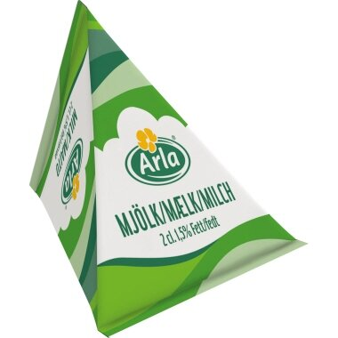 Arla H-Milch 1,5% mit Laktose 100 x 20 ml/Pack.