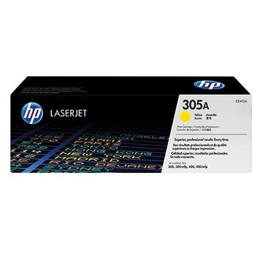HP Toner 305A ca. 2.600 Seiten gelb