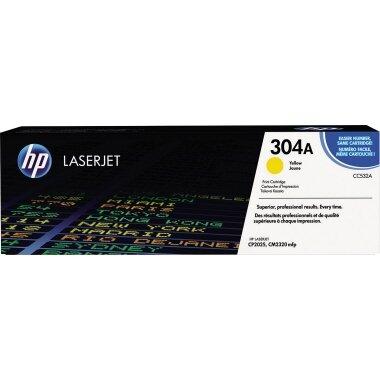 HP Toner 304A ca. 2.800 Seiten gelb