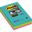 Post-it® Haftnotiz Super Sticky Notes Miami Collection...