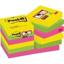 Post-it® Haftnotiz Super Sticky Rio de Janeiro Collection...