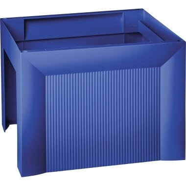 HAN Hängemappenbox KARAT DIN A4 35 Hängemappen Polystyrol blau