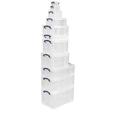 Really Useful Box Aufbewahrungsbox 71 x 12 x 44 cm (B x H x T) 20l Polypropylen transparent