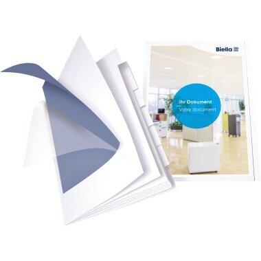 Biella Präsentationsmappe Orga File DIN A4 Karton weiß