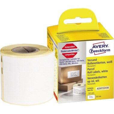 Avery Zweckform Versandetikett 101 x 54 mm (B x H) Papier weiß