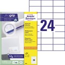 Avery Zweckform Universaletikett ultragrip 70 x 37 mm (B...