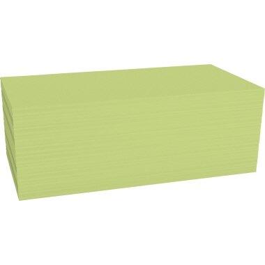 magnetoplan® Moderationskarte 20 x 10 cm (B x H) 120g/m˛ Offsetpapier gelb 500 St./Pack.