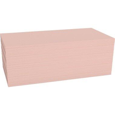 magnetoplan® Moderationskarte 20 x 10 cm (B x H) 120g/m˛ Offsetpapier rosa 500 St./Pack.