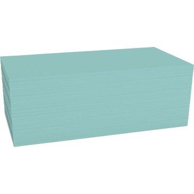 magnetoplan® Moderationskarte 20 x 10 cm (B x H) 120g/m˛ Offsetpapier blau 500 St./Pack.