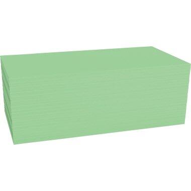 magnetoplan® Moderationskarte 20 x 10 cm (B x H) 120g/m˛ Offsetpapier grün 500 St./Pack.
