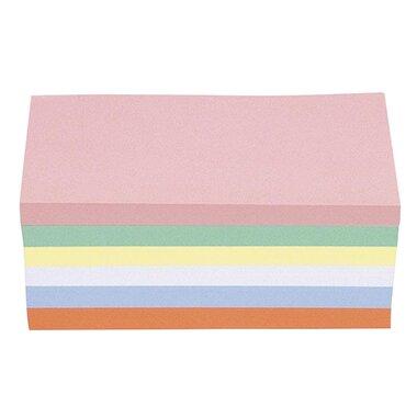 magnetoplan® Moderationskarte 20 x 10 cm (B x H) 120g/m˛ Offsetpapier farbig sortiert 500 St./Pack.