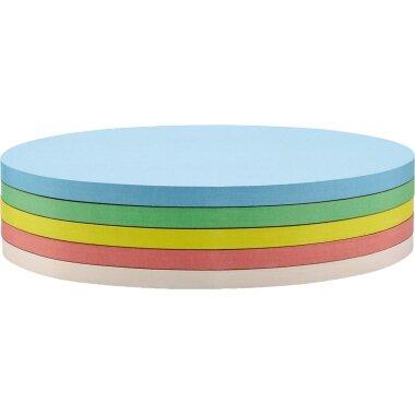 magnetoplan® Moderationskarte 19 x 11 cm (B x H) 130g/m˛ Offsetpapier farbig sortiert 250 St./Pack.