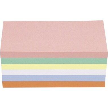 magnetoplan® Moderationskarte 20 x 10 cm (B x H) 120g/m˛ Offsetpapier farbig sortiert 250 St./Pack.