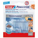 tesa® Haken Powerstrips® transparent XL 27 x 45 mm (B x...