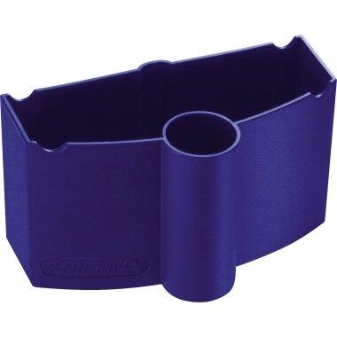 Pelikan Pinselwaschbox 55 x 55 x 100 mm (B x H x T) 1 Pinsel Kunststoff blau