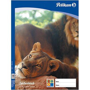 Pelikan Zeichenblock DIN A2 100g/m˛ 10 Bl.