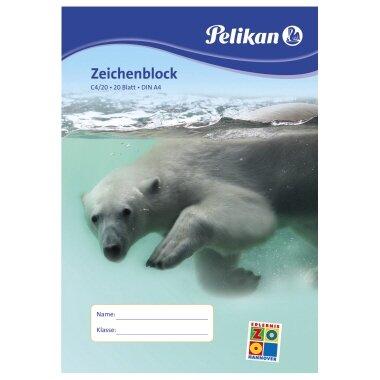 Pelikan Zeichenblock DIN A4 100g/m˛ 20 Bl.