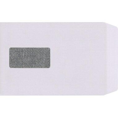 Versandtasche Lettersafe DIN C5 mit Fenster 90g/m˛ mit Haftklebung Offsetpapier weiß 500 St./Pack.