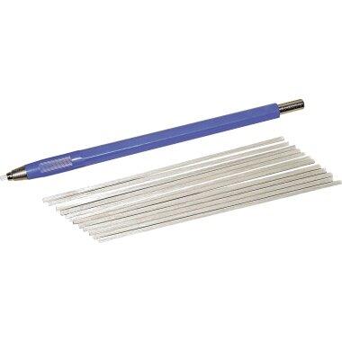 RoNa Pinsel Glasfaser blau