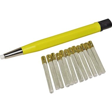 RoNa Pinsel Glasfaser gelb