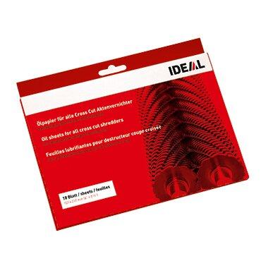 IDEAL Ölpapier Cross Cut Aktenvernichter 152 x 210 mm (B x H) 18 St./Pack.