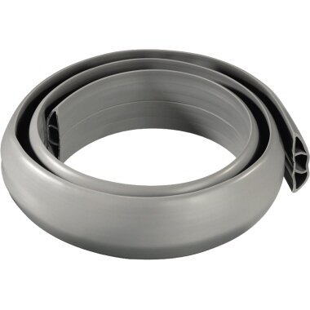 Hama Kabelkanal Flexkanal 1.800 x 60 x 12 mm (B x H x T) PVC grau