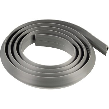 Hama Kabelkanal Flexkanal 1.800 x 30 x 10 mm (B x H x T) PVC grau