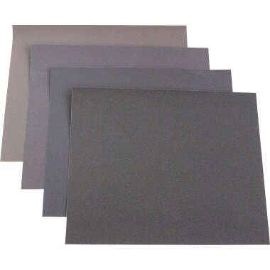 kwb Schleifpapier 23 x 28 cm (B x H) 180, 240, 400, 600 20 St./Pack.