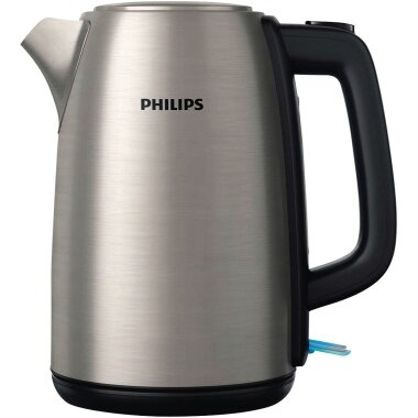 Philips Wasserkocher Daily Collection 1,7l Edelstahl edelstahl