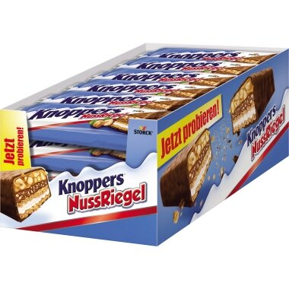 Knoppers Schokoriegel 24 x 40 g/Pack.