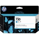 HP Tintenpatrone 730 cyan 130ml